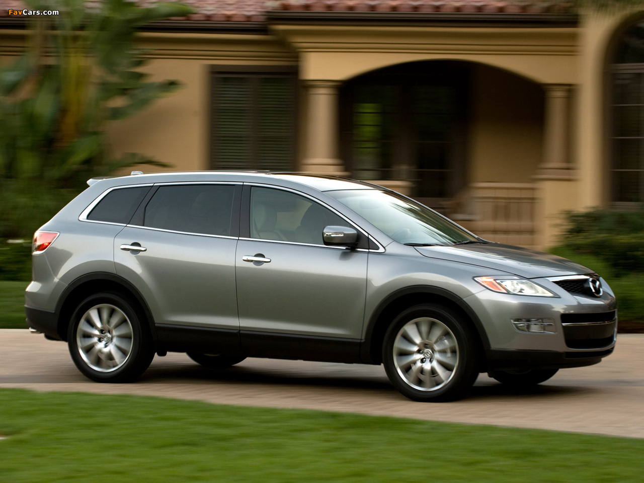 Mazda CX-9 US-spec 2007–09 wallpapers (1280 x 960)
