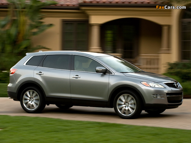 Mazda CX-9 US-spec 2007–09 wallpapers (640 x 480)