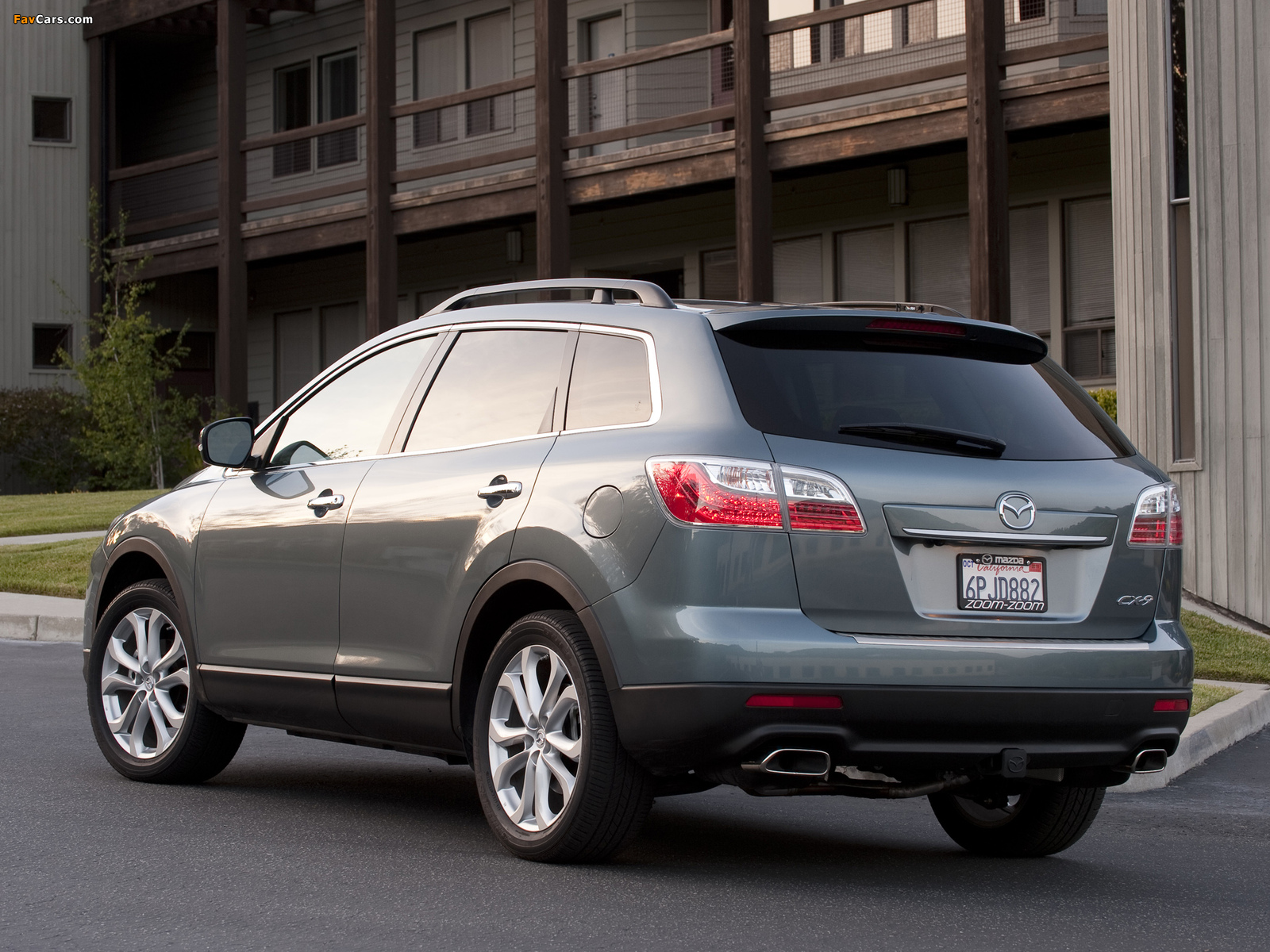 Mazda CX-9 US-spec 2009 wallpapers (1600 x 1200)