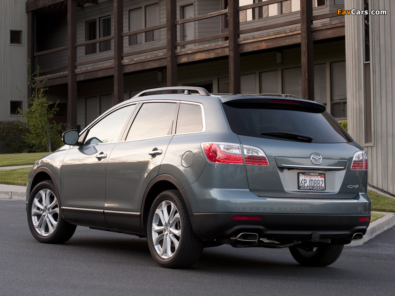 Mazda CX-9 US-spec 2009 wallpapers (800 x 600)