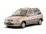 Images of Mazda Demio LX Limited (DW3W) 1998–99
