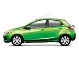 Images of Mazda Demio 2007–11