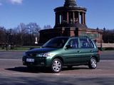 Mazda Demio Exclusive EU-spec (DW3W/DW5W) 2000–03 photos