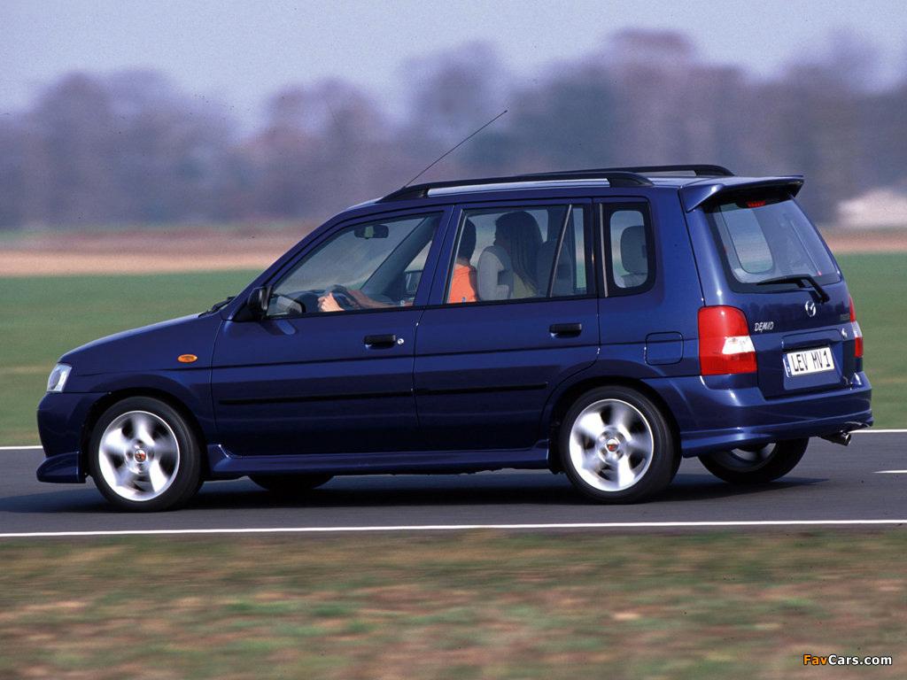 Mazda Demio 1.5 Exclusive EU-spec (DW5W) 2001–03 images (1024 x 768)