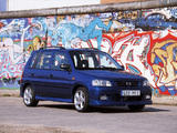 Mazda Demio 1.5 Exclusive EU-spec (DW5W) 2001–03 wallpapers