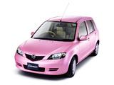 Mazda Demio Stardust Pink (DY3W/DY5W/DY3R) 2004–05 photos