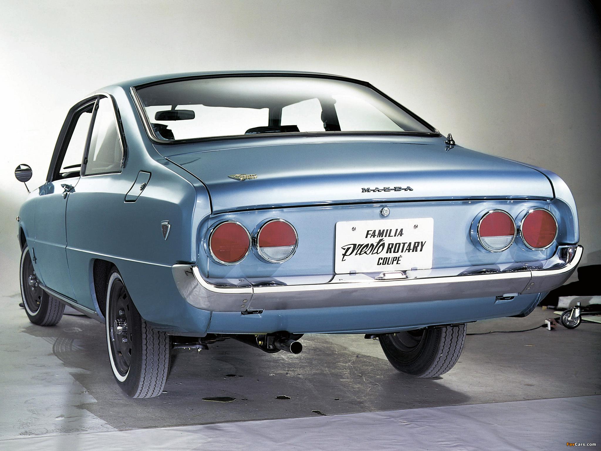 Images of Mazda Familia Presto Rotary Coupe 1970–73 (2048 x 1536)