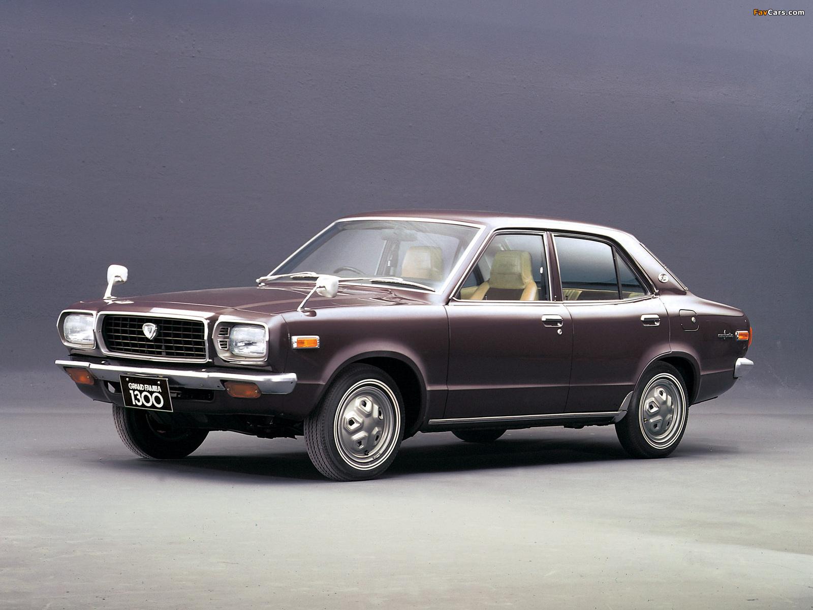 Mazda Grand Familia 1300 1971 images (1600 x 1200)