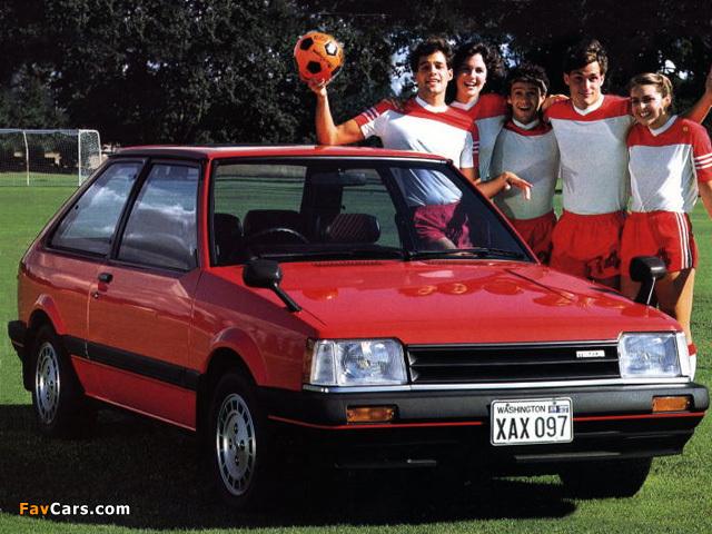Mazda Familia Hatchback 1980–85 wallpapers (640 x 480)