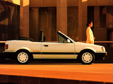 Mazda Familia Turbo Cabriolet 1985–89 photos