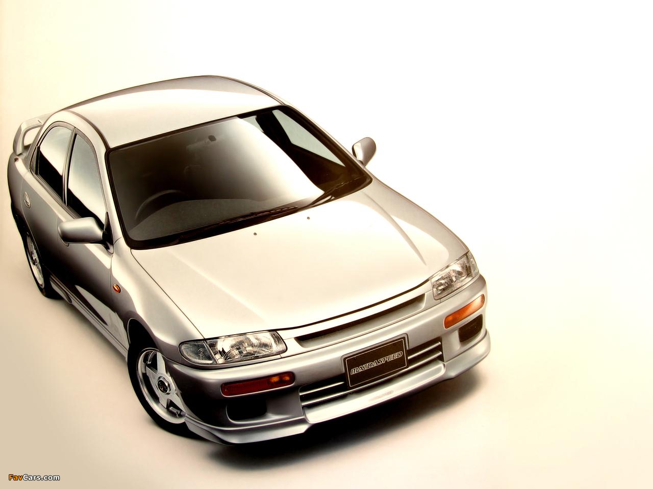 Photos of Mazdaspeed Familia (BA) 1994–98 (1280 x 960)