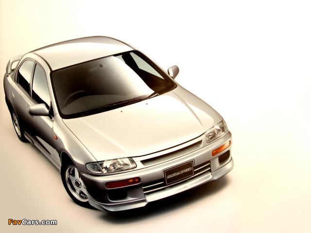 Photos of Mazdaspeed Familia (BA) 1994–98 (640 x 480)