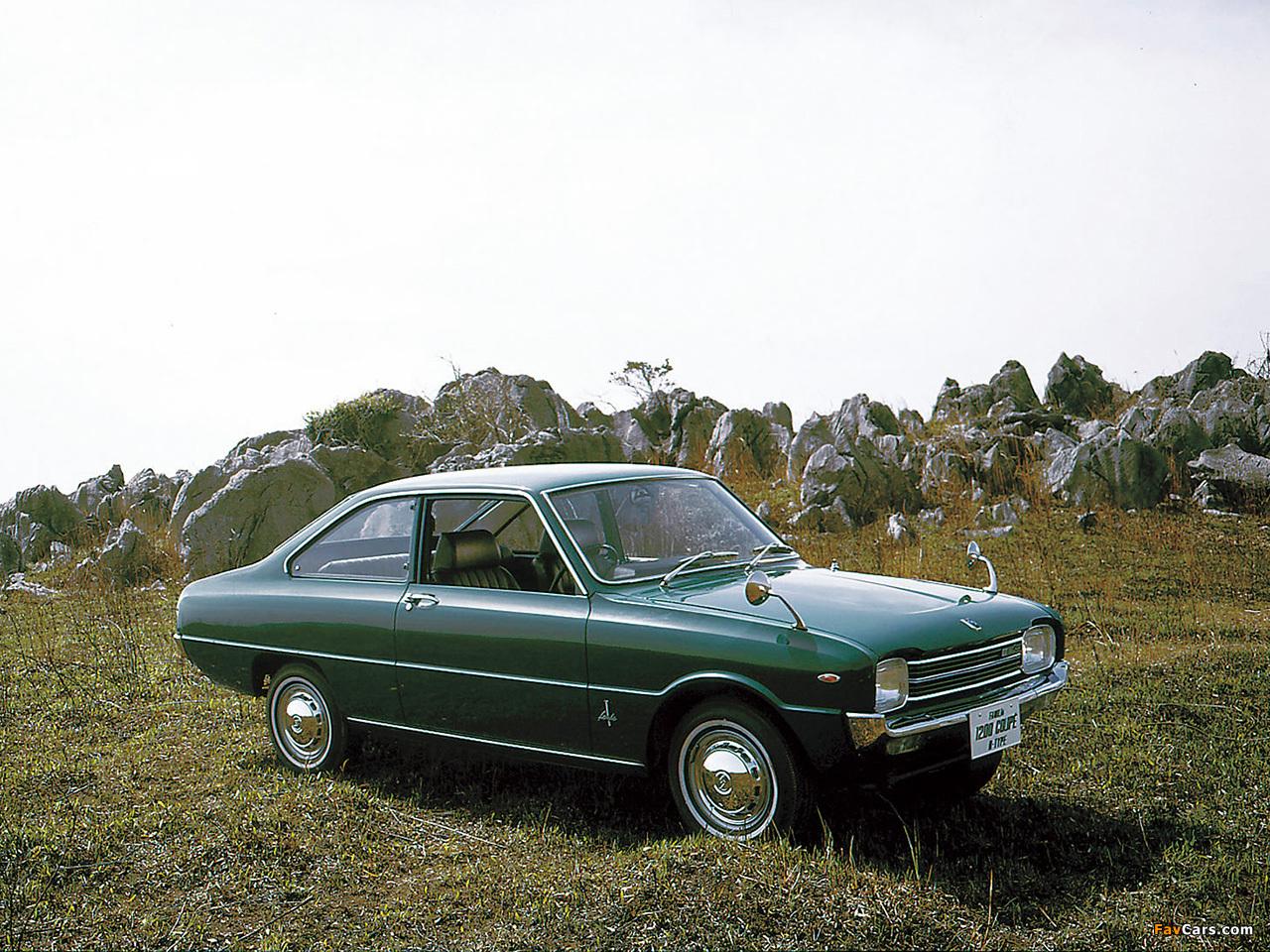 Mazda Familia 1200 Coupe 1968–70 wallpapers (1280 x 960)