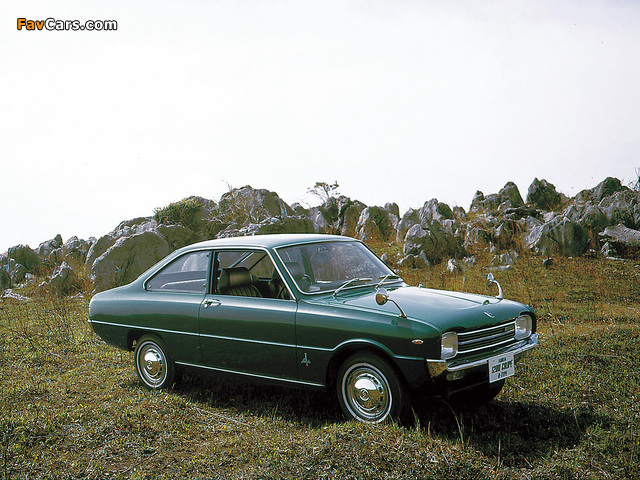 Mazda Familia 1200 Coupe 1968–70 wallpapers (640 x 480)