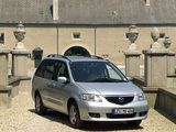 Photos of Mazda MPV 1999–2002