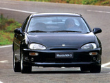 Pictures of Mazda MX-3 1991–98