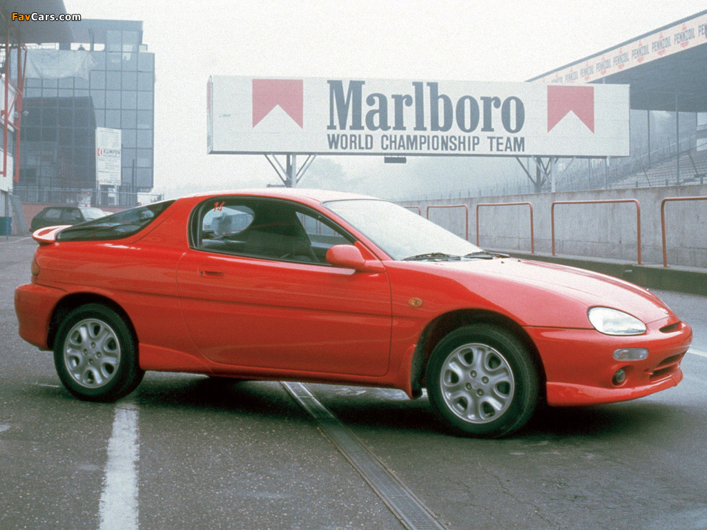 Mazda MX-3 1991–98 wallpapers (1024 x 768)