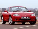 Images of Mazda MX-5 Roadster ZA-spec (NB) 1998–2005