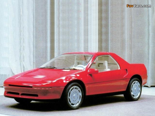 Mazda MX-5 Coupe Prototype 1988 photos (640 x 480)