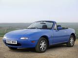 Mazda MX-5 UK-spec (NA) 1989–97 images
