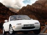 Mazda MX-5 UK-spec (NA) 1989–97 pictures