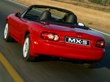 Mazda MX-5 Roadster ZA-spec (NB) 1998–2005 images