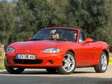 Mazda MX-5 Roadster (NB) 1998–2005 photos