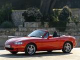 Mazda MX-5 Roadster (NB) 1998–2005 wallpapers
