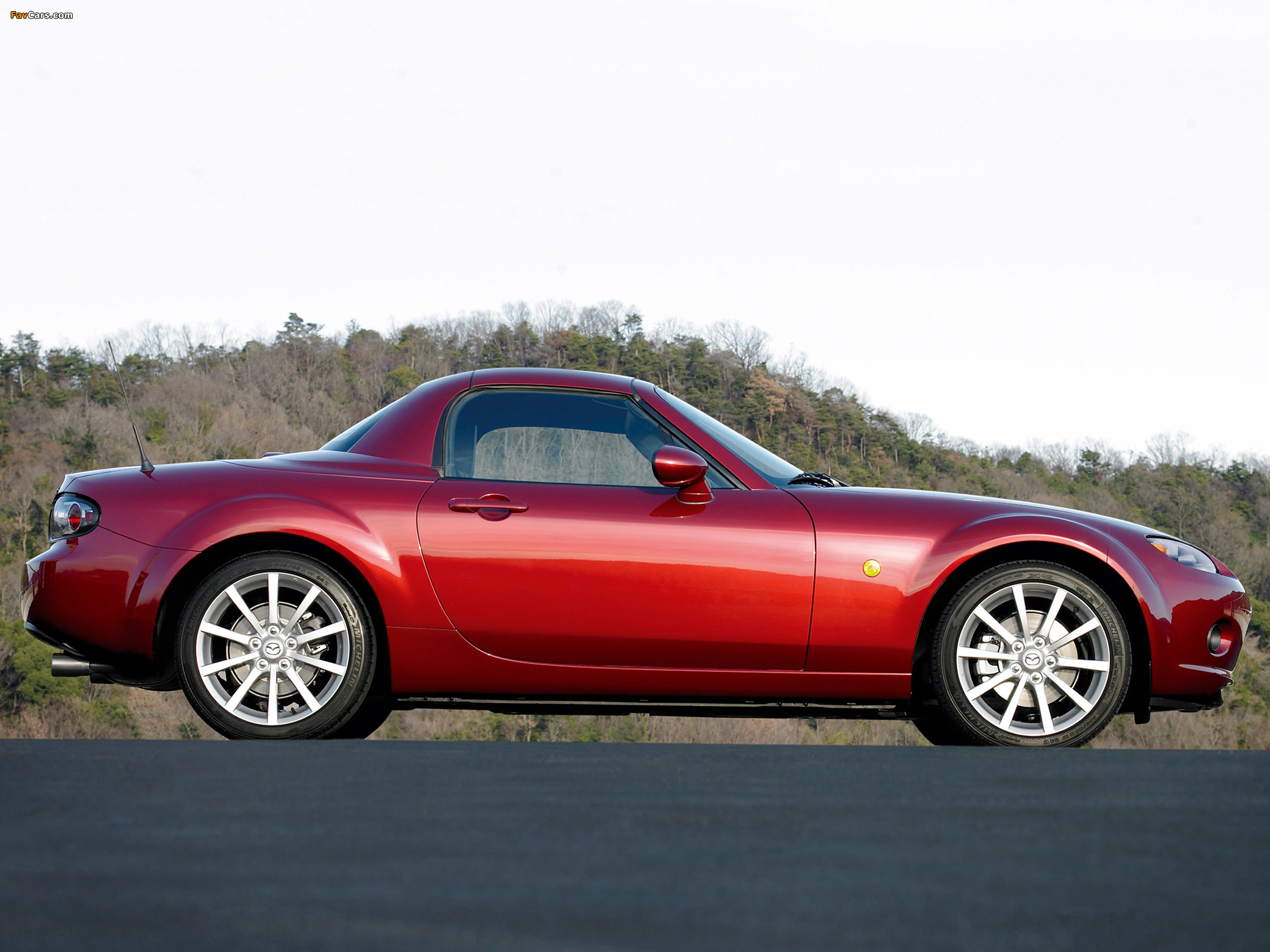 Mazda MX-5 Roadster-Coupe (NC) 2005–08 images (2048 x 1536)