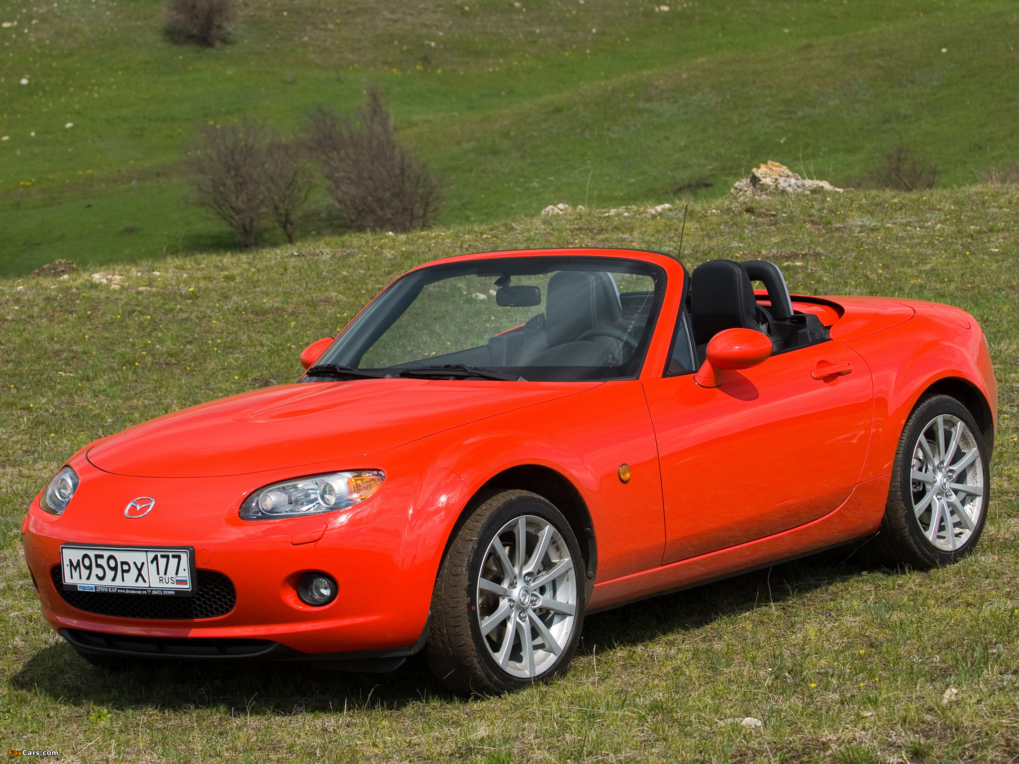 Mazda MX-5 Roadster-Coupe (NC) 2005–08 wallpapers (2048 x 1536)