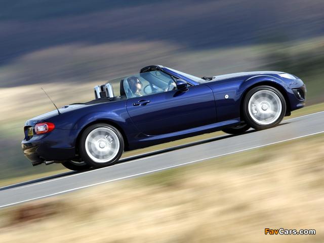 Mazda MX-5 Roadster UK-spec (NC2) 2008–12 wallpapers (640 x 480)