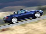 Mazda MX-5 Roadster UK-spec (NC2) 2008–12 wallpapers