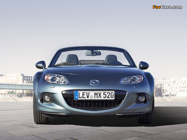 Mazda MX-5 Roadster (NC3) 2012 photos (640 x 480)