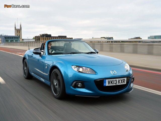Mazda MX-5 Roadster-Coupe Sport Graphite (NC3) 2013 wallpapers (640 x 480)
