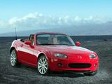 Photos of Mazda MX-5 Roadster US-spec (NC) 2005–08