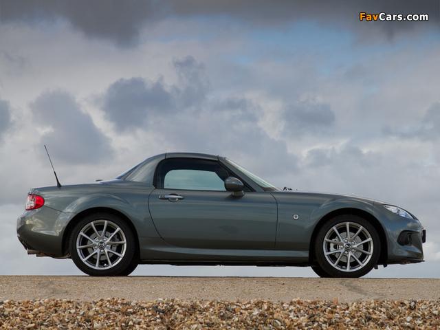 Photos of Mazda MX-5 Roadster-Coupe UK-spec (NC3) 2012 (640 x 480)