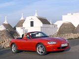 Pictures of Mazda MX-5 Roadster (NB) 1998–2005