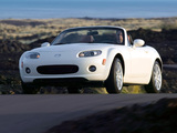 Pictures of Mazda MX-5 Roadster US-spec (NC) 2005–08