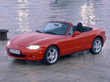 Mazda MX-5 Roadster (NB) 1998–2005 wallpapers