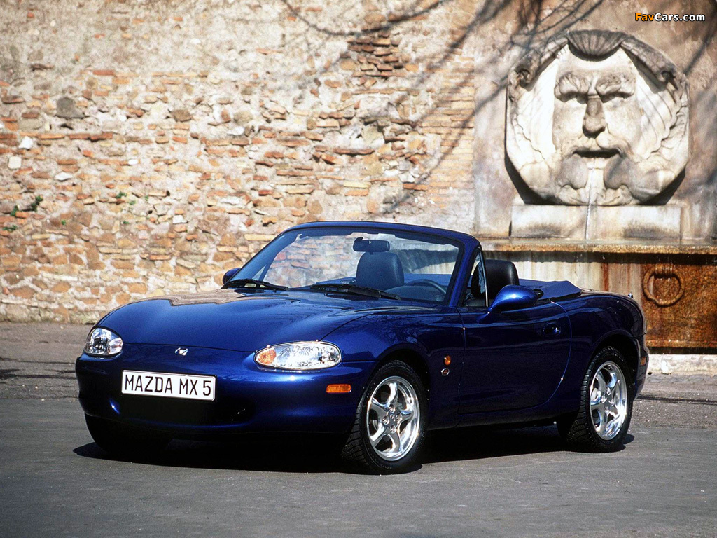 mazda mx 5 10th anniversary nb 1999 wallpapers 1024x768. Black Bedroom Furniture Sets. Home Design Ideas