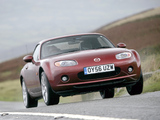 Mazda MX-5 Roadster-Coupe UK-spec (NC1) 2005–08 wallpapers