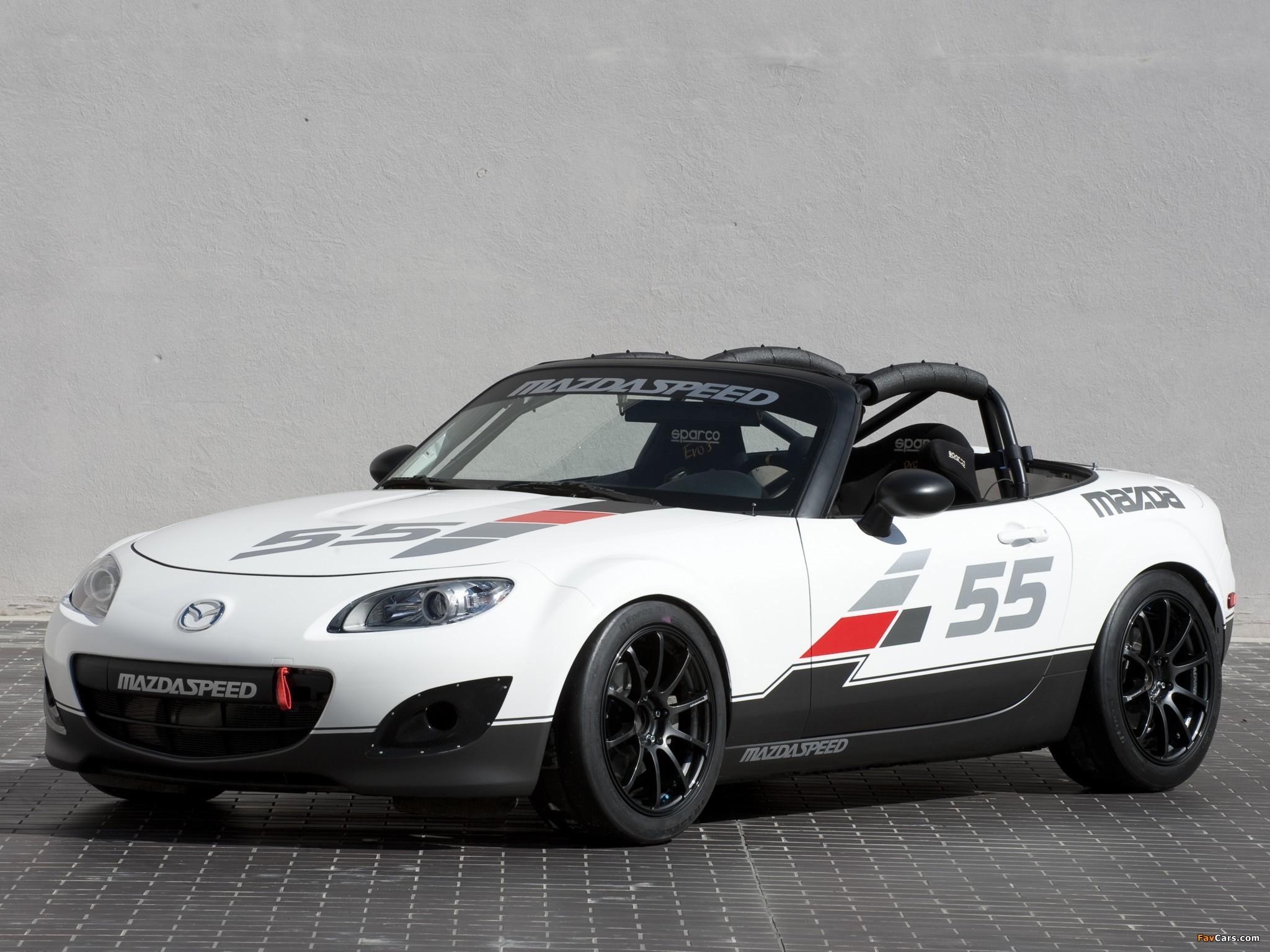 Mazda MX-5 Cup Car Concept (NC2) 2010 wallpapers (2048 x 1536)