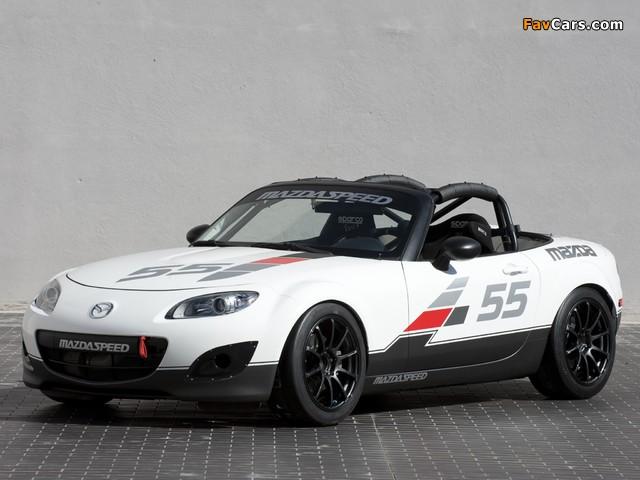 Mazda MX-5 Cup Car Concept (NC2) 2010 wallpapers (640 x 480)