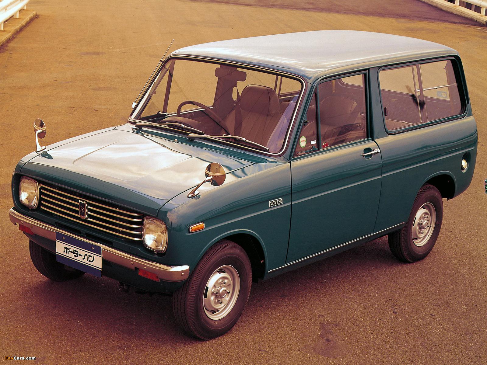 Images of Mazda Porter Van 1968 (1600 x 1200)