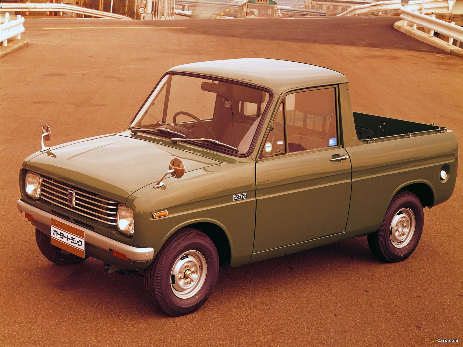 Mazda Porter Track 1968 pictures (1600 x 1200)