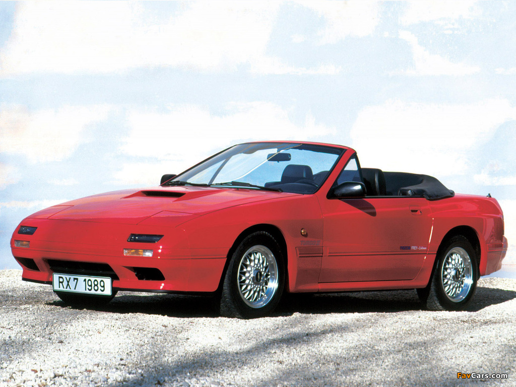 Mazda Rx 7 Turbo Ii Convertible Fc 1988 91 Pictures