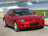 Images of Mazda RX-8 US-spec 2003–08