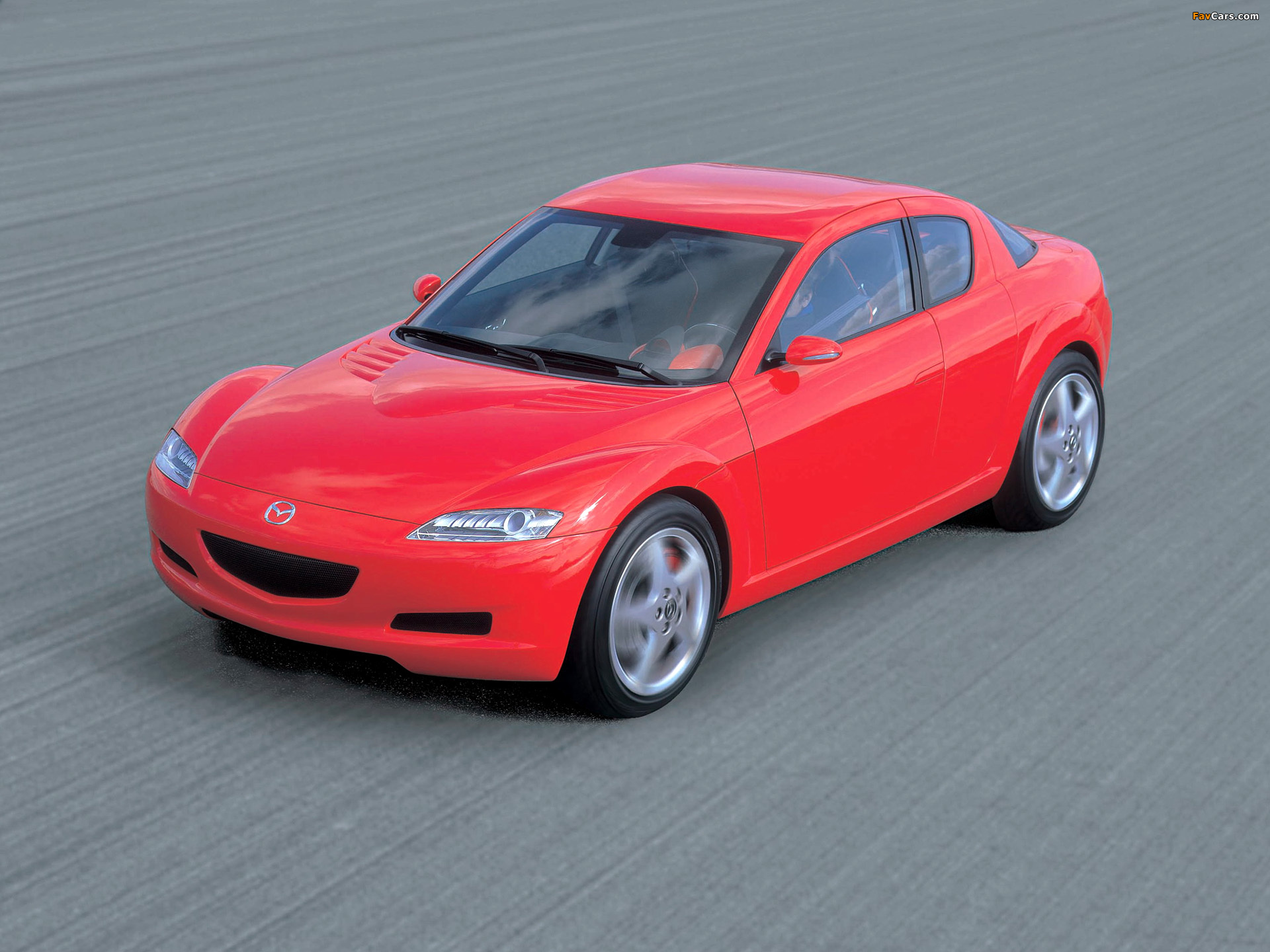 Mazda RX-8 Concept 2001 wallpapers (1920x1440)