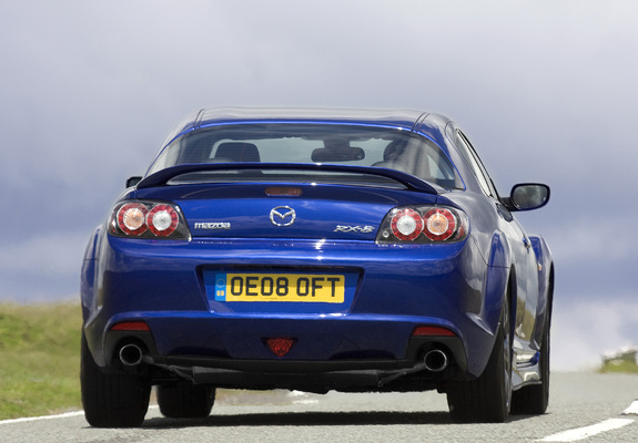 Mazda Rx 8 Wallpapers: Mazda RX-8 R3 UK-spec 2008–11 Wallpapers