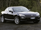 Mazda RX-8 Luxury AU-spec 2008–11 wallpapers